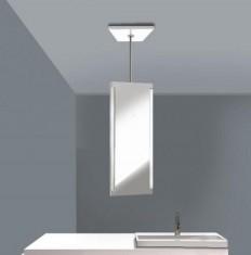 Spegelenhet med belysning -0